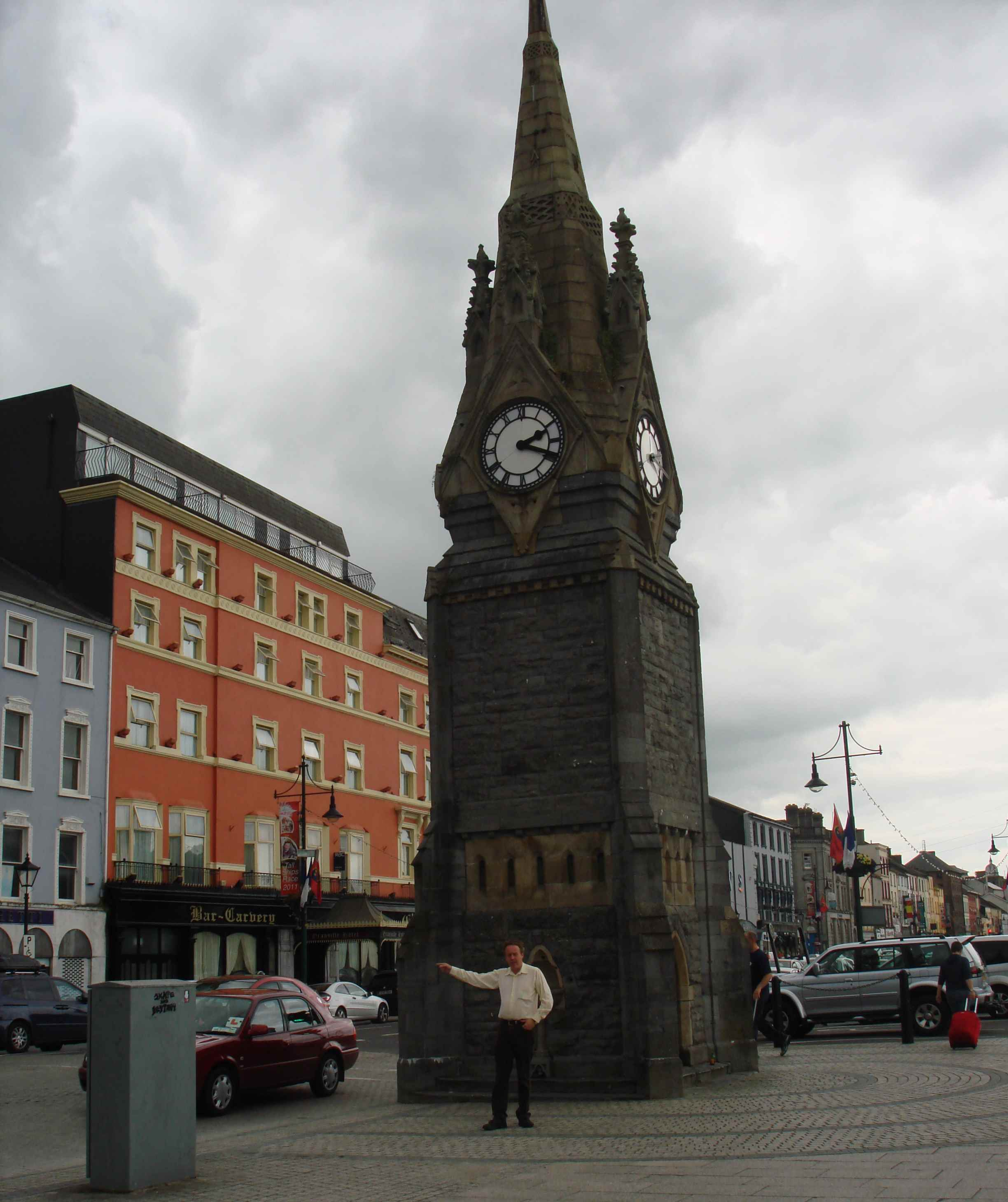 Clock Tower on Jack Burtchaell's Walking Tour in Waterford City, Ireland.