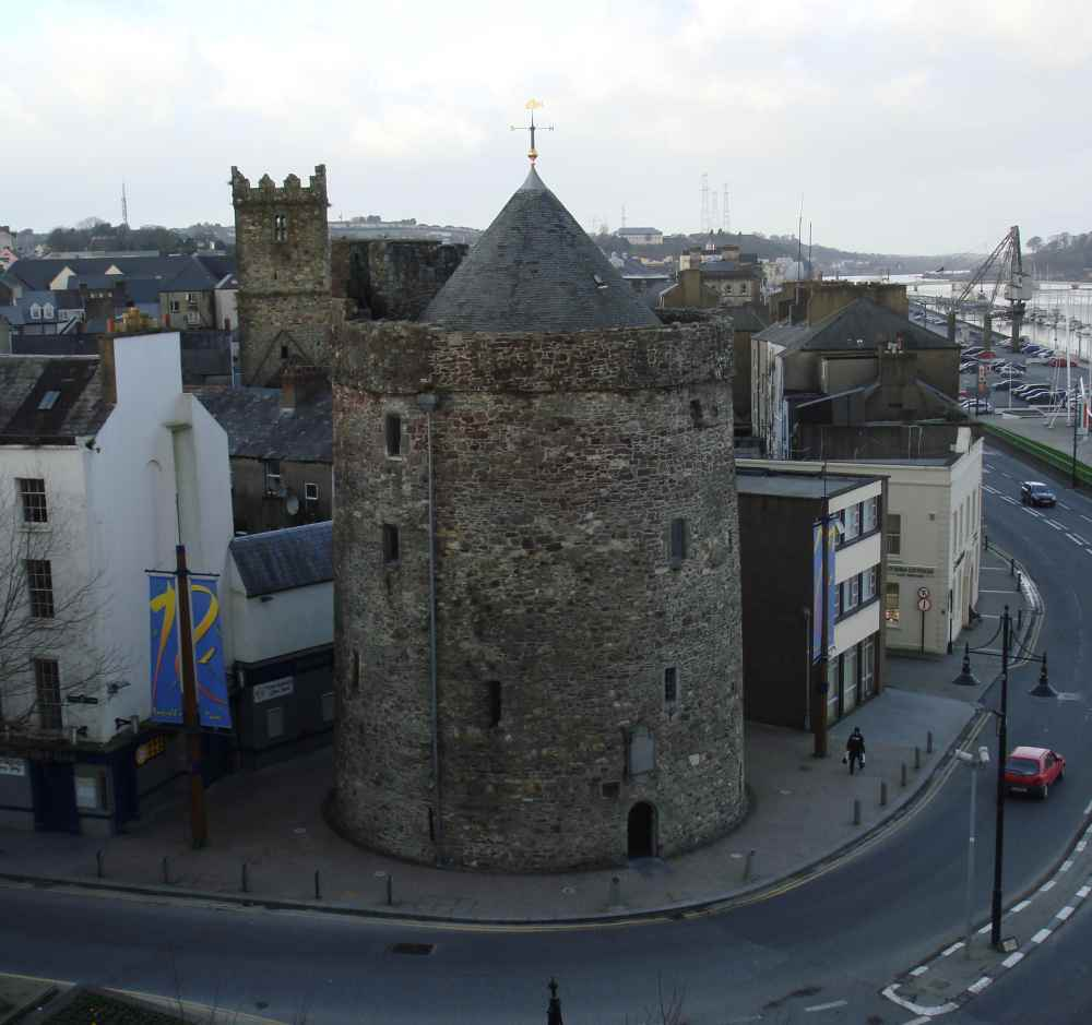 Reginald's Tower on Jack Burtchaell's Walking Tour in Waterford City, Ireland.